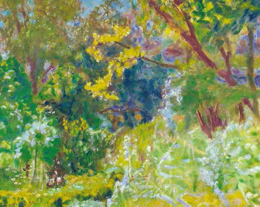 Pierre Bonnard (1867-1947) - Lumière du soleil, 1923 - huile sur toile, 63,2 x 62,2 cm - Madrid, Collection Carmen Thyssen-Bornemisza en dépôt au musée Thyssen-Bornemisza ©Musée Thyssen-Bornemisza © Adagp, Paris 2015
