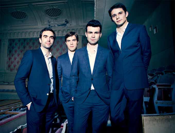 Quatuor Modigliani ©Sylvie Lancrenon