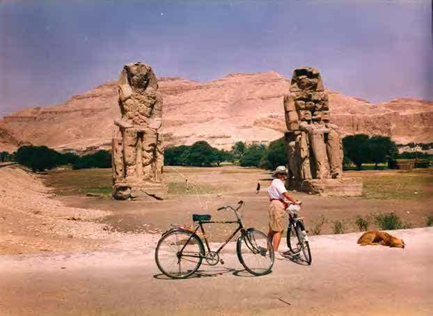 Famille Denise, Égypte, Louxor, Avril 1993