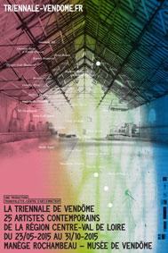 La Triennale de Vendôme, 25 artistes de la région centre Val de Loire, du 23 mai au 31 octobre 2015, Manège Rochambeau et Musée de Vendôme