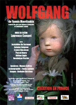 Wolfgang, de Yannis  Mavritsakis, à L'Atalante, Paris, du 1er au 12 avril 2015