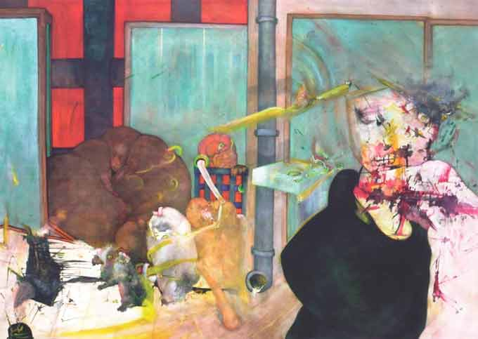 """Exposition """" Fulgurances """" : Jean-Louis Pipet à la Galerie claire Corcia, Paris, du 16 avril au 29 mai 2015"""