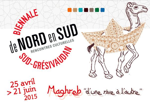 4e Biennale de Nord en Sud en Sud Grésivaudan, Saint-Marcellin et région (Isère), du 25 avril au 21 juin 2015