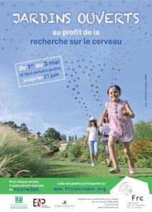 « Jardins Ouverts pour le Neurodon » 2015 du 1er au 3 mai