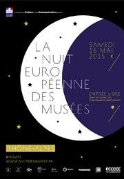 Nuit Européenne des musées en Rhône-Alpes, samedi 16 mai 2015