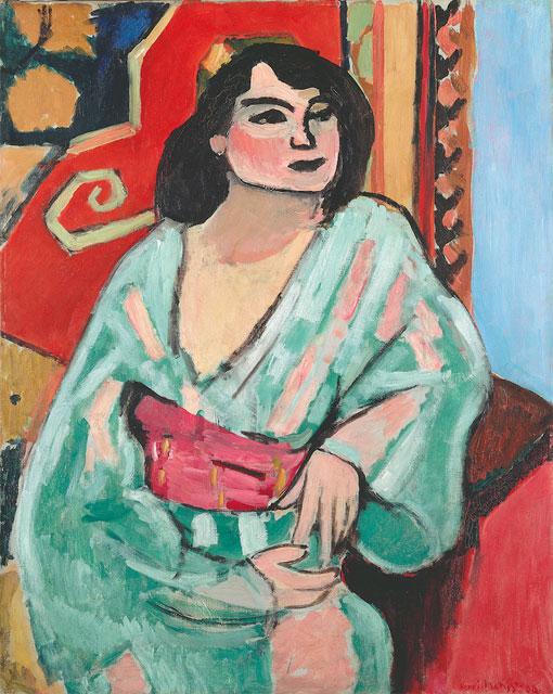 Henri Matisse, L'Algérienne, 1909. Huile sur toile, 81 x 65 cm. Centre Georges Pompidou © Succession H. Matisse / 2015, ProLitteris, Zurich