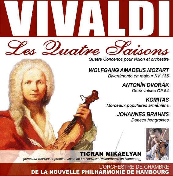 L'orchestre de chambre de la Nouvelle Philharmonie de Hambourg en tournée sur la Côte d'Azur et en Provence au mois de juin 2015