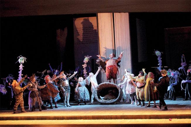 Fin de saison 2014-2015 à l'Opéra de Marseille : Falstaff, le Don Juan raté de Giuseppe Verdi, par Christian Colombeau