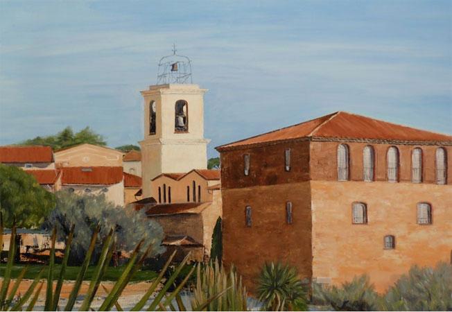 « On dirait le sud… », peintures de Graziella Agresti, Musée de la Tour Carrée, Sainte-Maxime (Var), du 1er au 31 juillet 2015