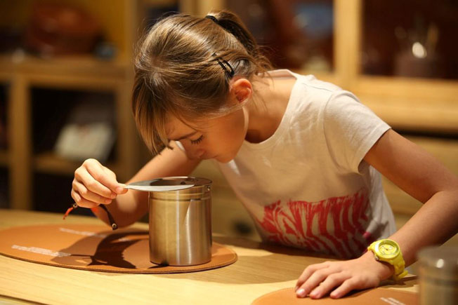 Chocolaterie Valrhona à Tain l'Hermitage, Drôme : Ateliers pour en savoir plus sur le chocolat