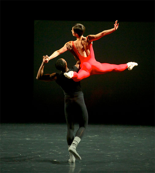 Ballet de l'Opéra de Lyon Steptext - William Forsythe © Jaime Roque De La Cruz