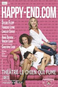 Festival d'Avignon Off 2015 : « Happyend.com », au Théâtre du Chien qui fume à 14h15, du 4 au 26 juillet