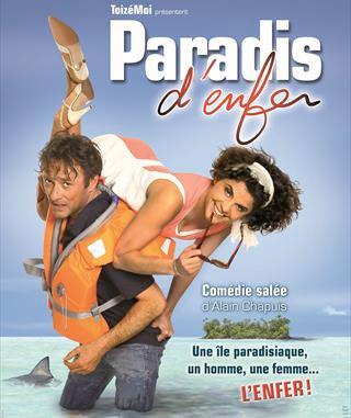 Paradis d'enfer par la Compagnie Toizémoi, Théâtre du Rouge Gorge, Avigon Off 2015. Par Jacqueline Aimar