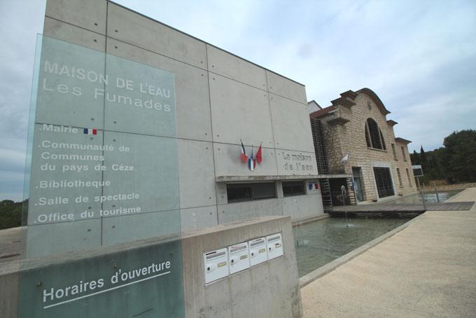 Salle de spectacles, mairie, office de tourisme, un bel équipement au service du public