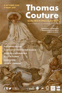 Thomas Couture, peintre de la société parisienne. Accrochage du 5 octobre 2015 au 28 février 2016. Bicentenaire de la naissance du peintre