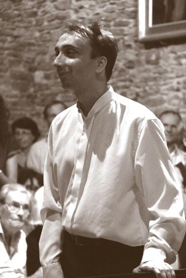 Myroslav Kultyshev en fin d'un récital épuisant © Pierre Aimar