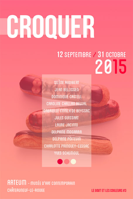 ARTEUM. Croquer, une exposition collective de dessin contemporain, à Châteauneuf-le-Rouge (13) du 12 septembre au 31 octobre 2015
