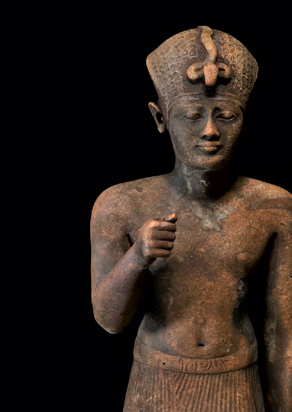 Statue en bronze d'un pharaon, Thônis-Héracléion, baie d'Aboukir, Égypte © Christoph Gerigk © Franck Goddio/Hilti Foundation