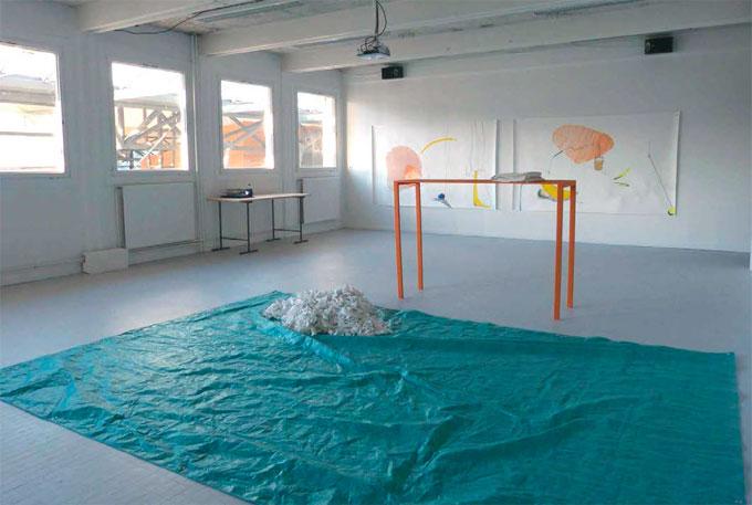 Travaux de Lorette Havond, présentés lors du DNSEP art 2015, ÉSAD Valence. Photo Lorette Havond