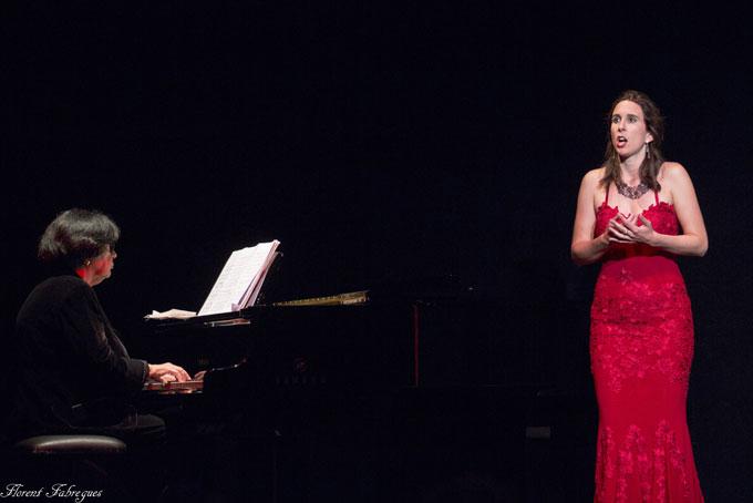 Carole Rey, soprano, Anja Peskova, piano