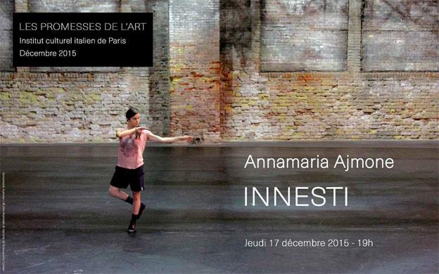 L 39 institut culturel italien de paris invite la danseuse for Institut culturel italien paris