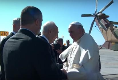 Exposition photographique « La visite du pape François en Israël », 8 décembre 2015 au 3 janvier 2016, Parvis d'Avignon