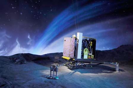 Comètes, à la poursuite de Rosetta, au Planétarium de Vaulx-en-Velin, du 9 janvier au 31 juillet 2016
