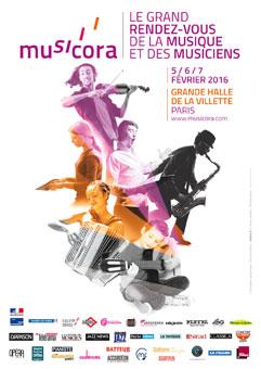 Musicora du 5 au 7 février 2016 à Paris