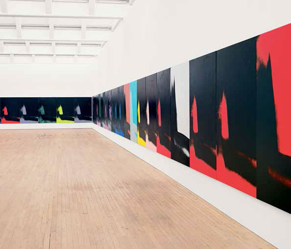 Andy Warhol, Ombres (Shadows, 1978-79). Dia Art Foundation © Bill Jacobson