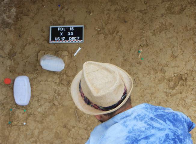 Fouilles archéologiques du site des Prés de Laure