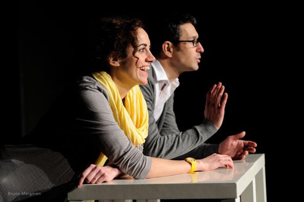 Caroline Rochefort et Stéphane Duclot