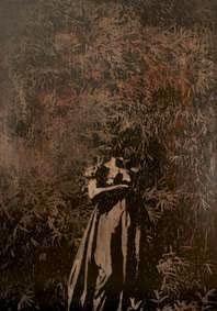 Joséphine II, 2015  Acrylique sur bois. 175 x 122 cm.