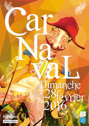 Un carnaval médiéval à Romans sur Isère le 28 février 2016 !
