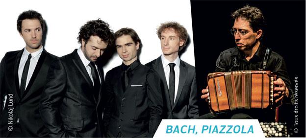 Labeaume en musique. Tango & variations par le Quatuor Varèse & Philippe Bourlois, 5 et 6 mars à Beaulieu et Rocles (Ardèche)