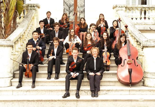 L'Orchestre à cordes régional des élèves © Ville de Cannes