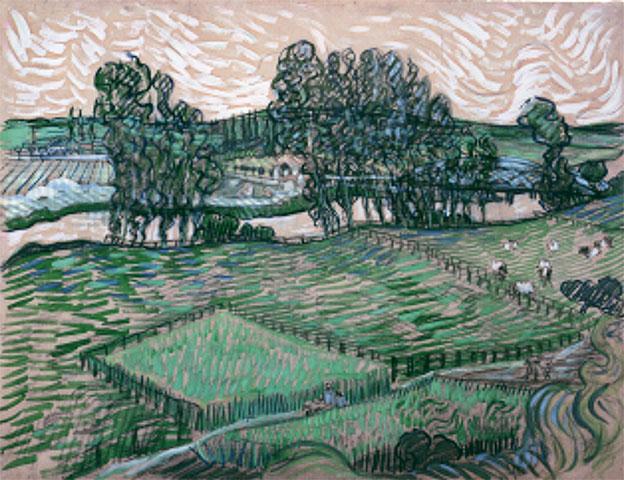 Vincent van Gogh, Vue sur l'Oise