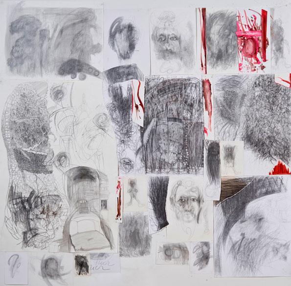 Marcel Katuchevski, Œuvres inédites, exposition du 10 mars au 2 avril 2016, Galerie Claire Corcia, Paris