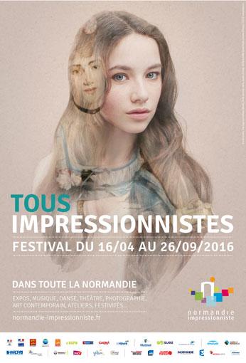 Festival Normandie Impressionniste du 16 avril au 26 septembre 2016 : 450 manifestations dans la nouvelle région normande