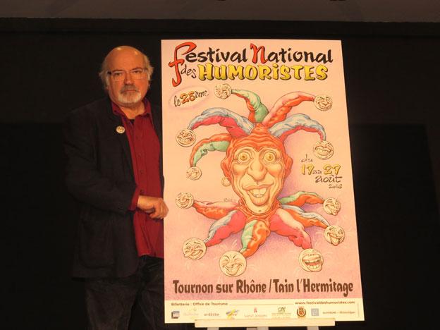 Jean Solé présente son affiche