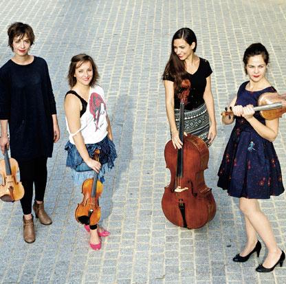 Quatuor Zaïde © Neda Navaee