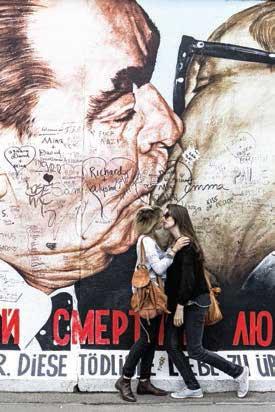 Matteo Carrassale - Amore letale, 2013, Mur de Berlin
