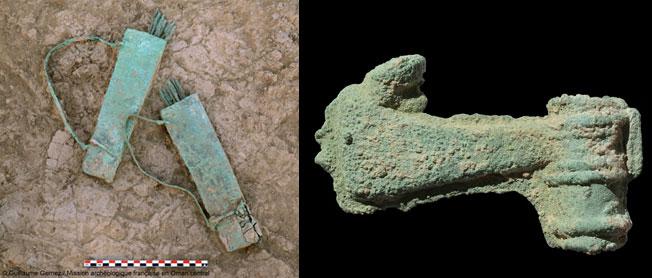 Mars 2016. Découverte d'armes antiques inédites en Arabie