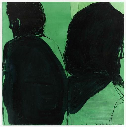 Jean-Charles BLAIS, Sans Titre, 2015, gouache sur papier,113 x 115, 5 cm