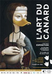 L'Art du Canard, couvent Sainte-Cécile, Grenoble, du 14 avril au 30 juillet 2016