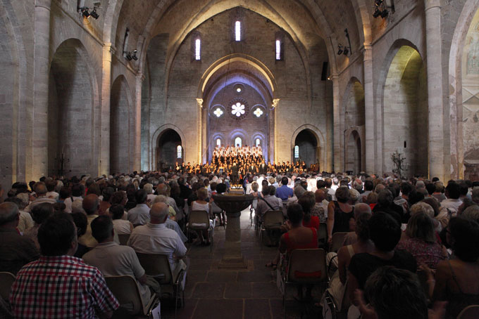 Eglise de l'Abbaye de Sylvanès © DR