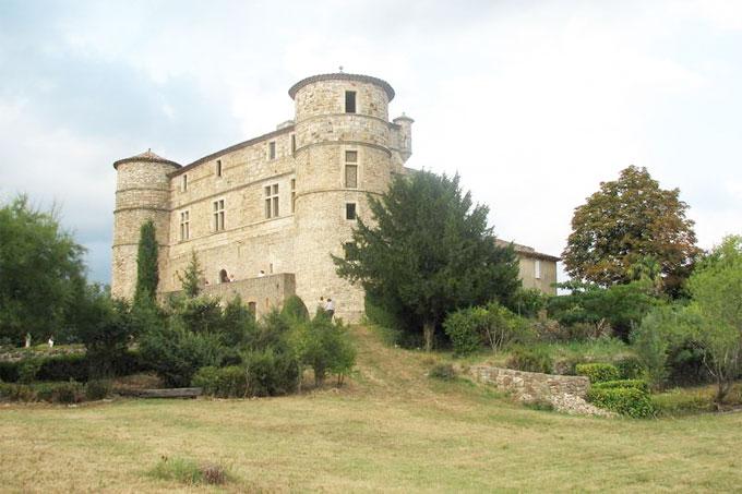 Château le Castellas à Saint-Bonnet de Salendrinque