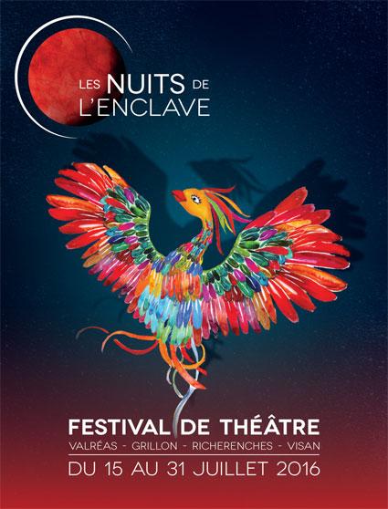 Valréas Les Nuits de l'Enclave : Le théâtre pour assembler les hommes à Grillon, Richerenches, Visan et Valréas du 15 au 31 juillet 2016