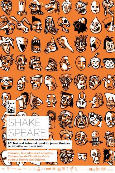 Festival Shakespeare, 17e édition ! à Tournon sur Rhône du 23 au 29 juillet 2016
