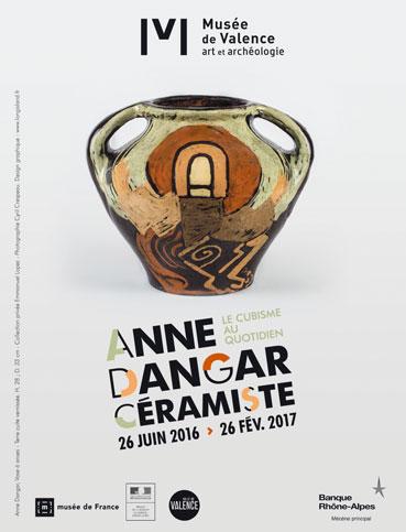 Anne Dangar, le cubisme au quotidien, Valence, Musée des Baux-Arts, du 26 juin 2016 au 26 février 2017