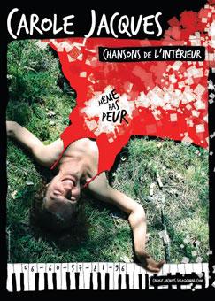 Même pas peur, chansons de l'intérieur, Atypik Théâtre, Avignon Off du 7 au 30 juillet 2016 à 13h35